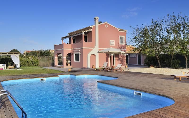 Villa Joanna Arillas Corfu