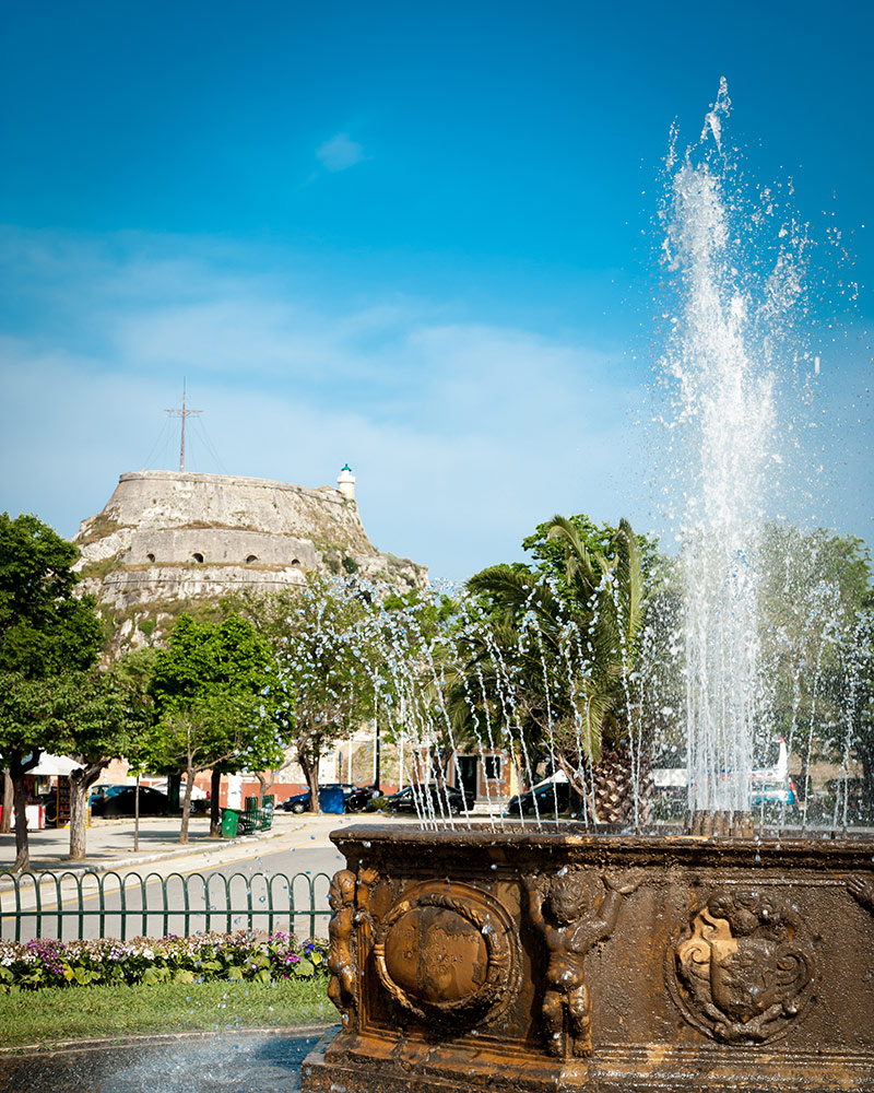 Corfu Town Square